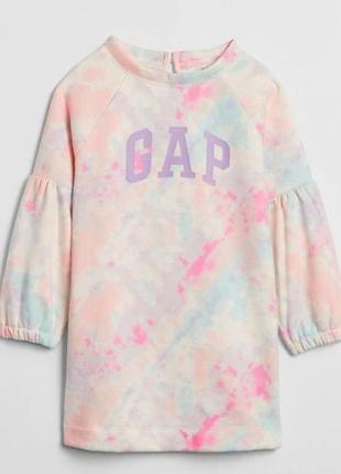 Стильне трикотажне плаття для дівчинки gap