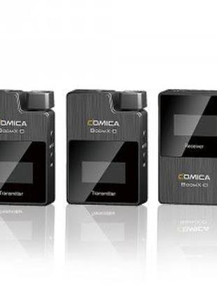 Comica boom x d2 Беспроводная микрофонная система