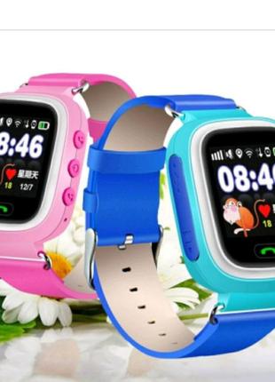 Смарт-часы детские UWatch Q90 GPS