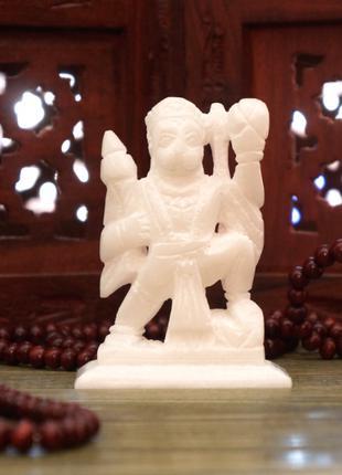 Статуэтка из белого Мрамора Хануман