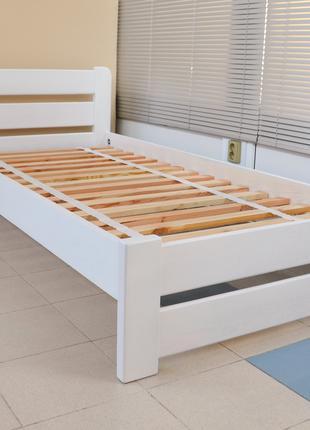Кровать Деревянная Рич 80х200см Двуспальная. Массив Сосны