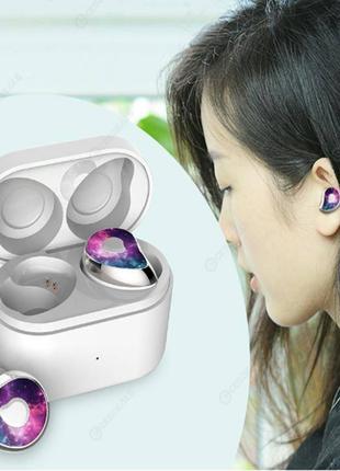 Беспроводные наушники MDR HBQ SE6 TWS Bluetooth с зарядным блоком