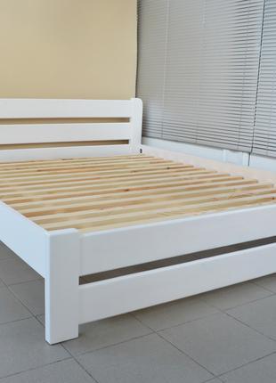 Кровать Деревянная Рич 140х200см Двуспальная. Массив Сосны
