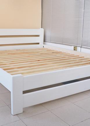 Кровать Деревянная Рич 160х200см Двуспальная. Массив Сосны
