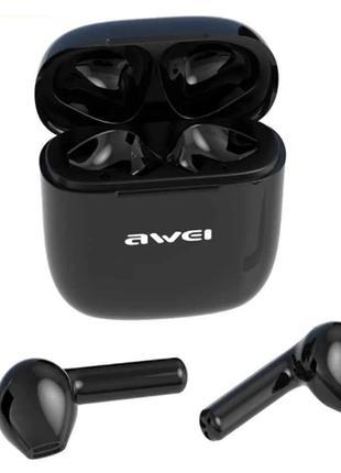Беспроводные наушники Awei T26 Bluetooth с зарядным блоком