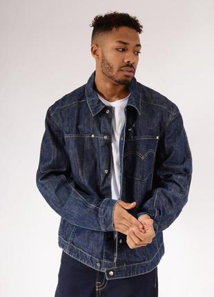 Мужской джинсовый пиджак жакет куртка levis
