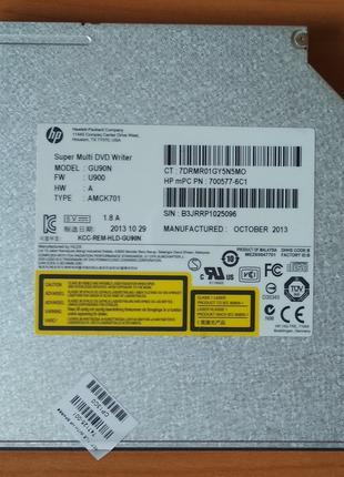 Привод DVD-RW HLDS GU90N 9.5mm SATA для ноутбука
