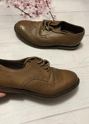 Туфли оксфорды модные