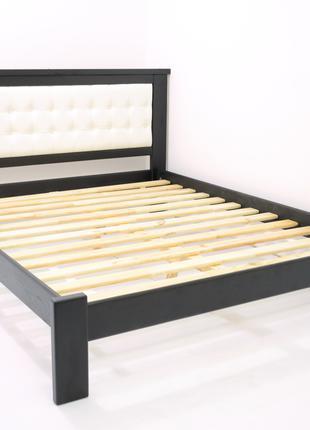 Кровать Деревянная 160х200см. Двуспальная Дионис  Массив Сосны