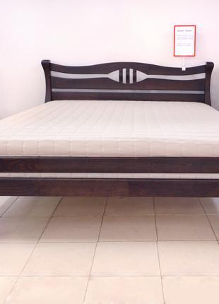 Кровать Деревянная 140х200см. Двуспальная Кронос  Массив Сосны