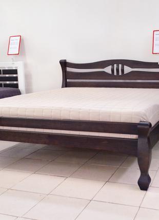 Кровать Деревянная 160х200см. Двуспальная Кронос Массив Сосны