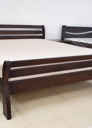 Кровать Деревянная 140х200см. Двуспальная Аркадия  Массив Сосны