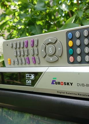 Супутниковий ресівер Eurosky DVB-8004