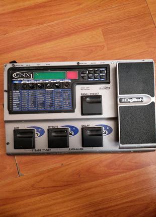 Гитарная педаль эффектов Digitech GNX1- дефект.