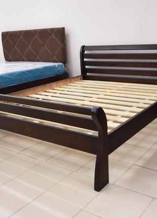 Кровать Деревянная 160х200см. Двуспальная Аркадия  Массив Сосны