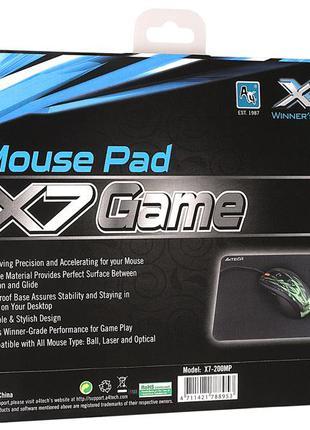 Игровой коврик для мыши A4 Tech X7-200MP (25 х 20 см)
