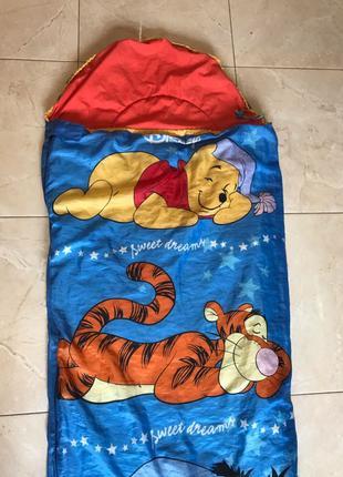 детский спальный мешок спальник кокон Disney