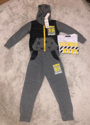 Спортивный костюм для мальчиков тройка утеплённый 🚚🚚🚚 доставка...