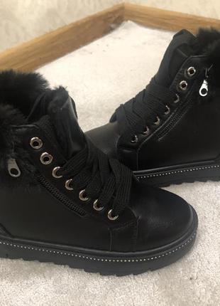 Шикарные женские зимние ботинки 🚚🚚🚚 доставка бесплатно 🚚🚚🚚
