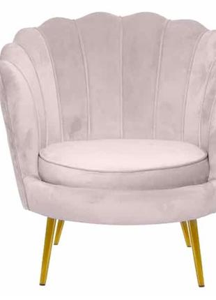 Кресло Шелл розовый Prestol 2020