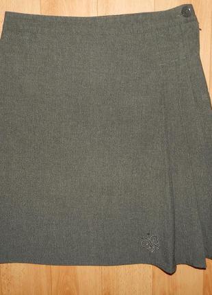 Школьная юбка nutmeg , р.140-146 см