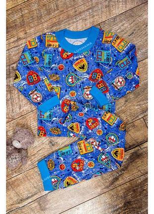 Пижама на бейке для мальчика