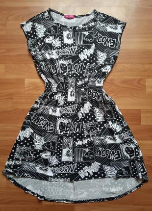 Трикотажное платье  y.d. р.152
