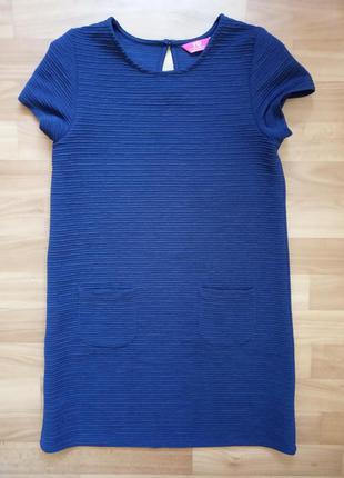 Элегантное трикотажное платье, можно в школу y.d. primark р.152