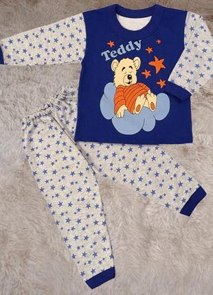 Детская пижама тедди начес