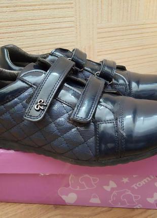 Лаковые туфли для девочки tom.m на р.37-38