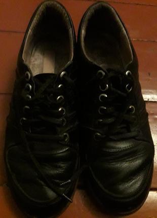 Туфли женские из натуральной кожы