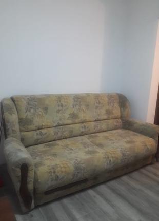 Выдвижная мягкая мебель: 1 диван - кровать + 2 кресла - кровать