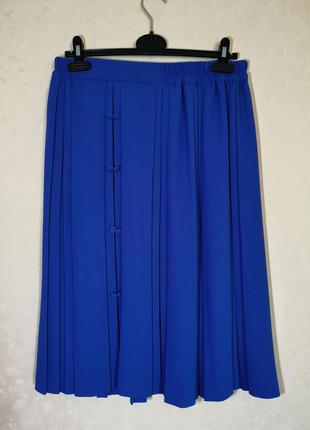 Скидка дня невероятно красивая юбка плисе в складку миди