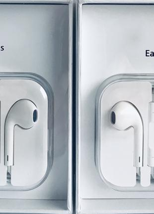 Наушники EarPods mini jack 3,5 mm, для Apple iPhone