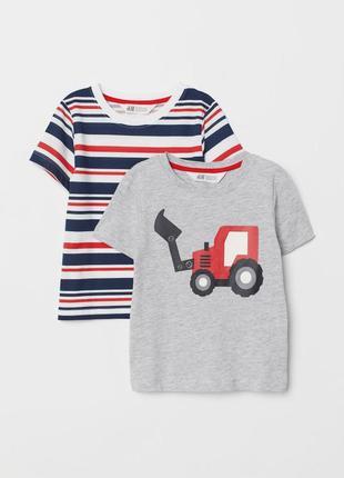 Набор детских футболок h&m