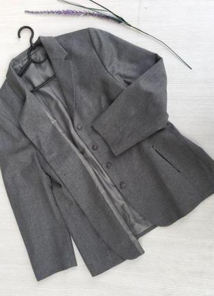 Актуальный стильный шерстяной пиджак,жакет next