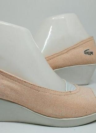 Женские туфли  lacoste