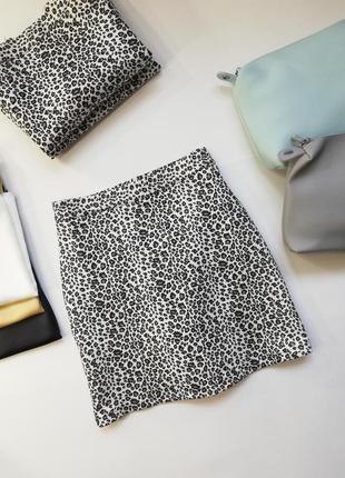 Стильные юбочки, юбка мини, юбка с принтом, тренд 2020