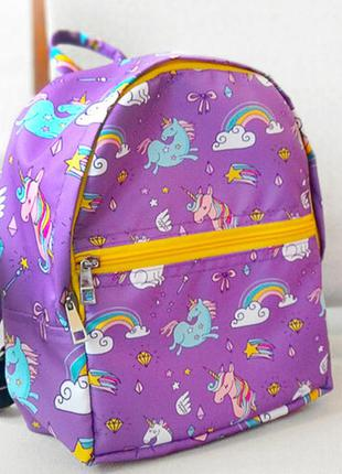 Рюкзак детский light единороги
