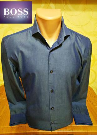 Рубашка hugo boss, оригинал
