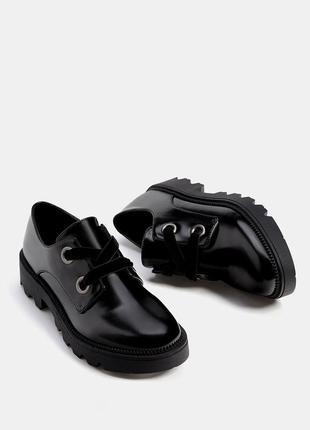 Sale броги туфли оксфорды ботинки с бархатными шнурками bershk...