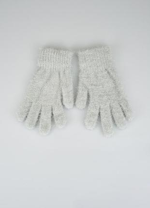 Мягенькие пушистые перчатки