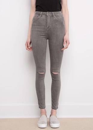 Sale джинсы скинни суперскинни высокая талия pull&bear eur 42 ...