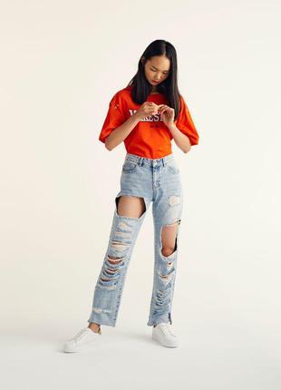 #розвантажуюсь джинсы мом мам mom fit бойфренды рваные pull&be...