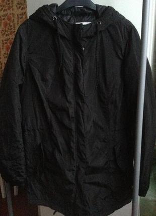 Sale парка куртка l zara terranova черная