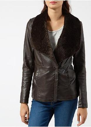Sale куртка косуха кожанка авиатор new look xs s
