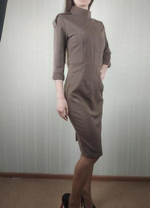 Sale офисное деловое платье - футляр  xs s