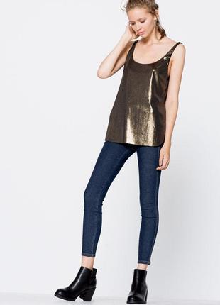 Sale блестящая блуза only 38 s m
