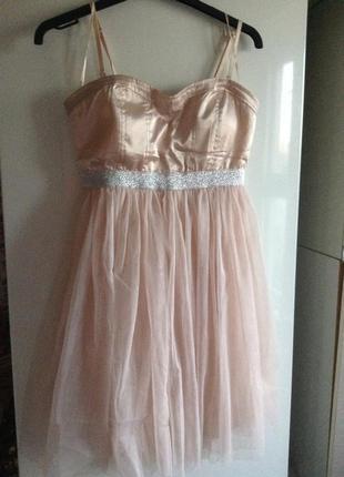 #розвантажуюсь платье с фатиновой юбкой s