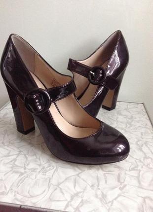 Sale туфли на широком каблуке mary jane 37 38